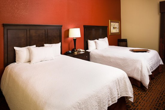 Hampton Inn Columbia : Guest Room 2 Queen Sizr Beds