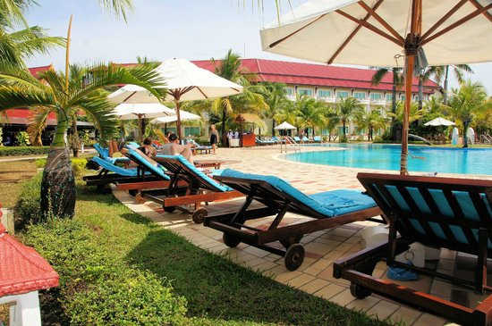 Sokha Beach Resort: Pool-Bereich