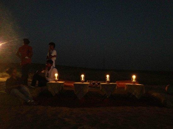 Mirvana Nature Resort and Camp:                   Dinner