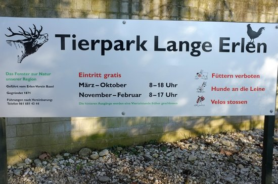 Tierpark Lange Erlen: Sogar mit Hund und Velo darf man hinein