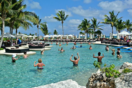 Secrets Maroma Beach Riviera Cancun:                   Lots of activities in pool