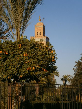 prayer tower close to Riad Catalina