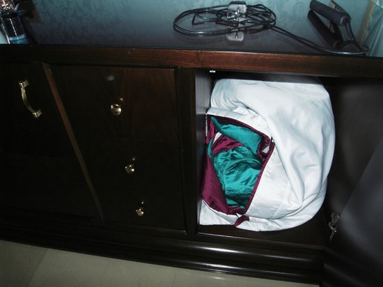 Rixos Premium Bodrum:                   Cleaners left a bed cover in the cupboard instead on the bed                 