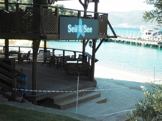 Rixos Premium Bodrum:                   Restaurant closed
