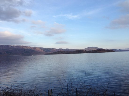 Lodge on Loch Lomond:                   Stunning view