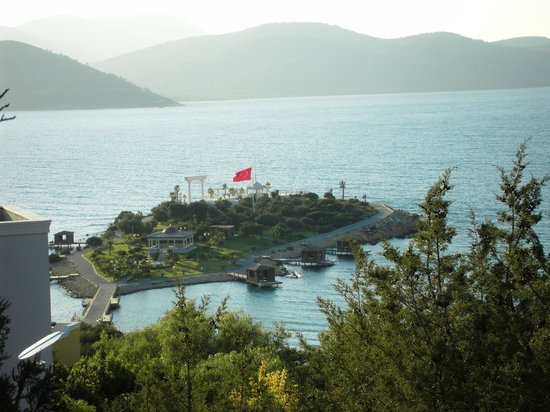 Rixos Premium Bodrum:                   Beautiful view