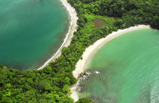 Hacienda Pacifica: The Twin beaches, inside the National Park