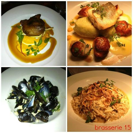 Brasserie 15: food just die for it!