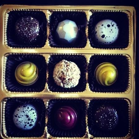 Christophe Artisan Chocolatier - Patissier:                   gluten free truffles!