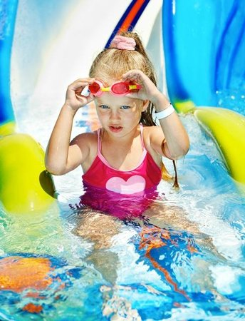 Flamingo Waterpark Resort: In the Childrens Pool