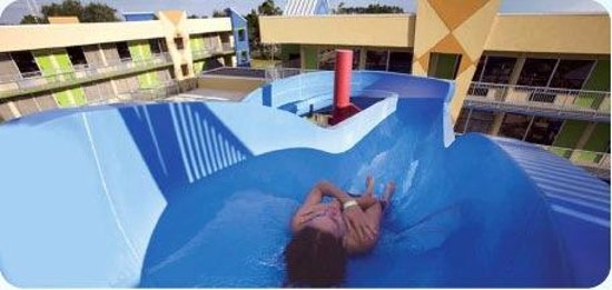 Flamingo Waterpark Resort: Slide