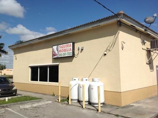 Taqueria Morelia:                   next to Valero gas station