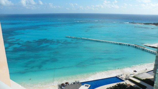 Hotel Riu Cancun:                   view from room
