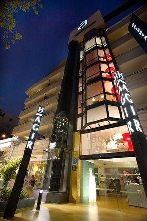 Hotel Agir: Entrada Hotel