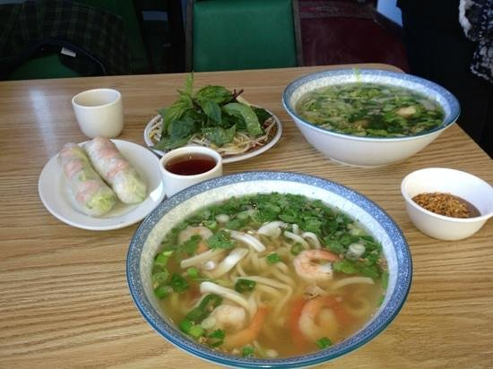 Pho Mekong House of Noodles :                   food was so fresh and so good!