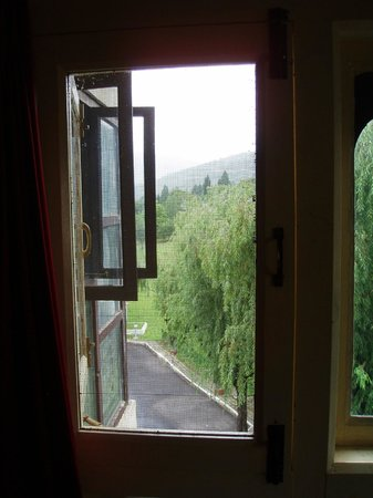 Yeedzin Guest House: out the window