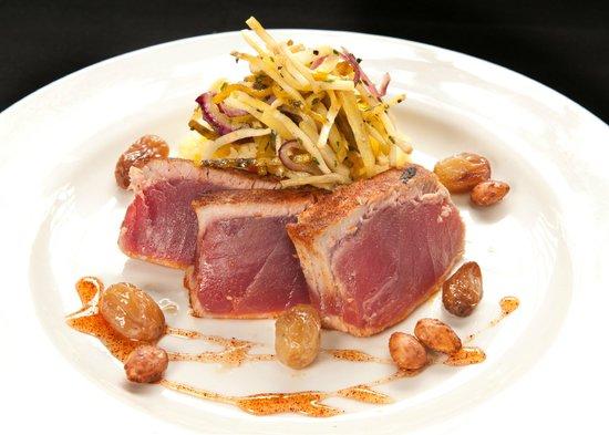 Sunset Grill: Ahi Tuna With A Jicama Slaw