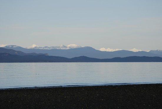 Seaview Beach Resort: panoramic view of georgia strait