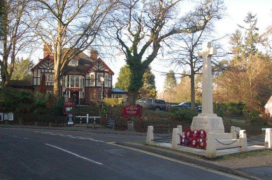 The Burley Inn Hotel:                   The front of the Burley Inn