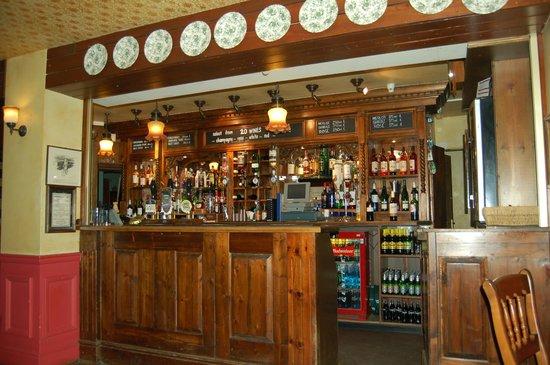 The Burley Inn Hotel :                   in the bar