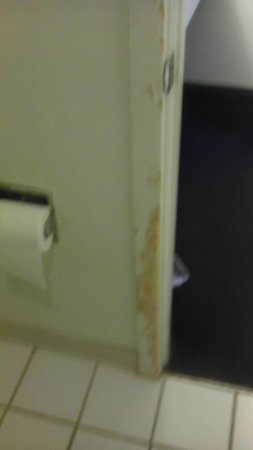 Econo Lodge Ruther Glen:                   Inside of bathroom