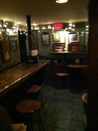Nana's Irish Pub:                   The basement of Irish Isle