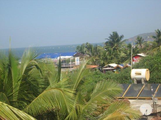 The Park Calangute Goa:                   From Hotel Terrace