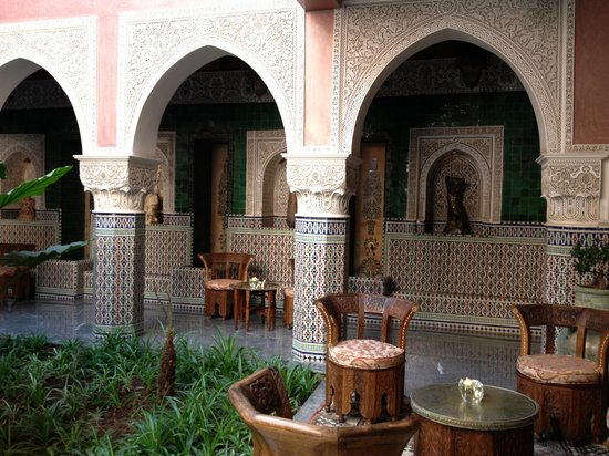 La Sultana Marrakech:                   patio