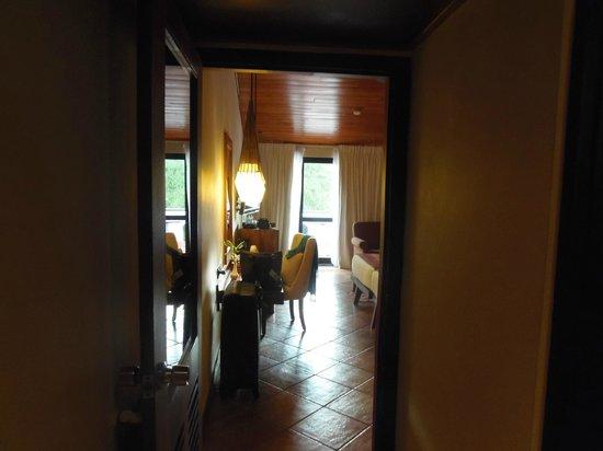 Cinnamon Citadel Kandy:                                     L'entrée