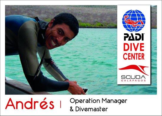 Scuba Galapagos: Scuba Galapagos PADI Staff