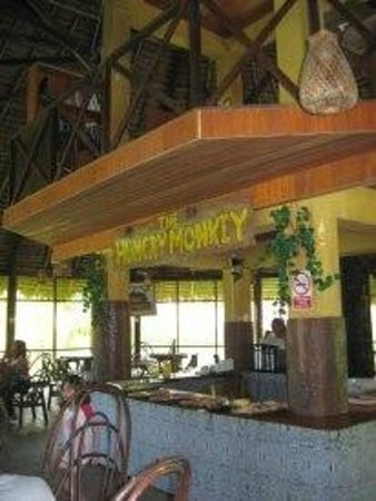 Amazon Rainforest Lodge:                                     El comedor