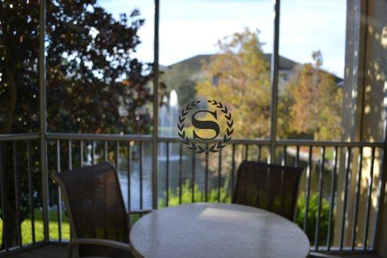 Sheraton Vistana Resort - Lake Buena Vista:                   Room balcony
