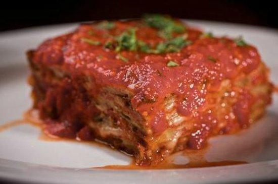 Vinnie's Neighborhood Italian: eggplant parmesan