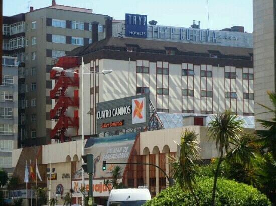 Tryp Coruna Hotel : Vista del Hotel