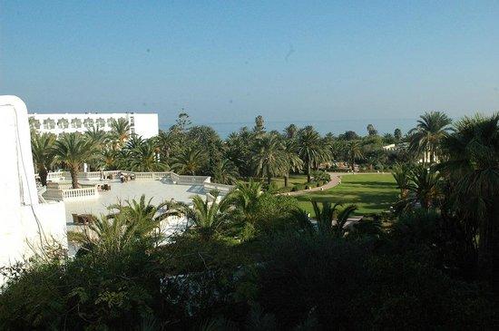 JAZ Tour Khalef Thalasso & Spa:                                     Tour Khalef outdoor terrace and garden