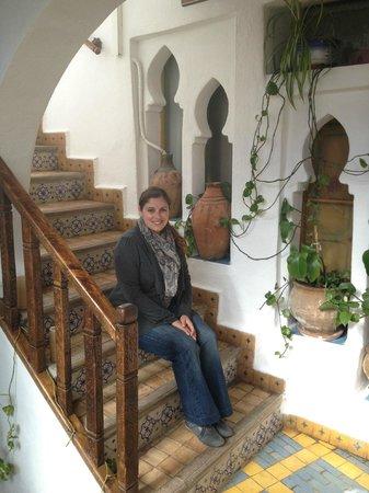 Dar Meziana Hotel: Stairway