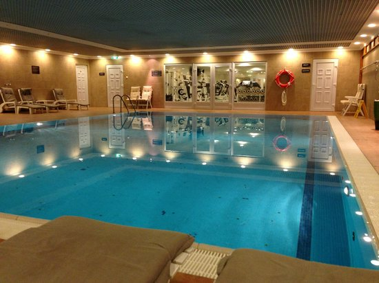 Sofitel Budapest Chain Bridge: Swimming pool and gym