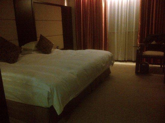 Baidu International Hotel:                                     very large bed!