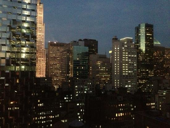 Sofitel New York: view from the jr suite Sofitel