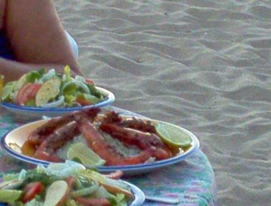 Hotel Evasion : crevettes