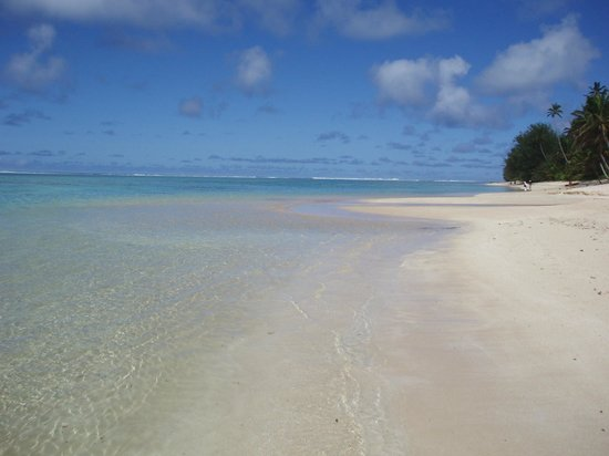 Palm Grove: Clean beach, clear warm water