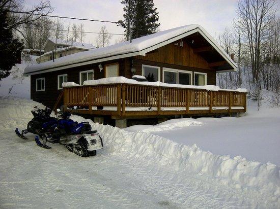 Gowganda Lake Lodge :                   Cottage