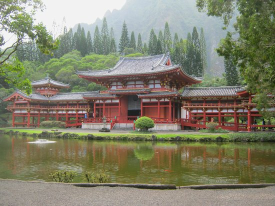 Stunning Byodo-In Temple