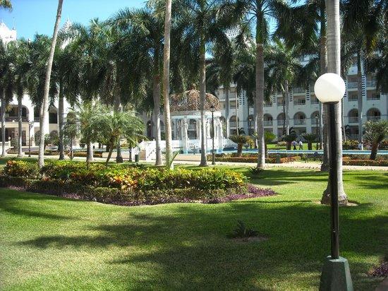 ClubHotel RIU Jalisco:                   Court yard