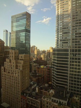 The London NYC:                   View from the room during the day