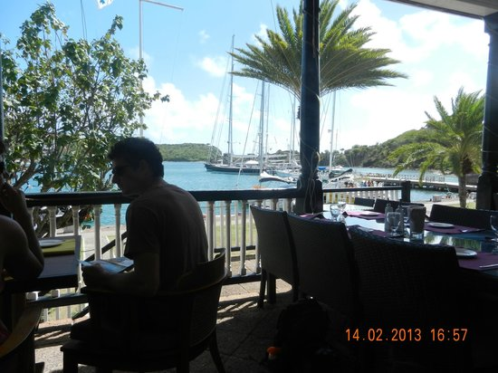 Hamilton's Wine Bar and Bistro:                   tranquil setting