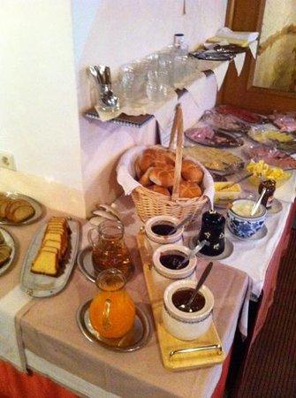 Konrad Hotel-Pension:                   Het ontbijt