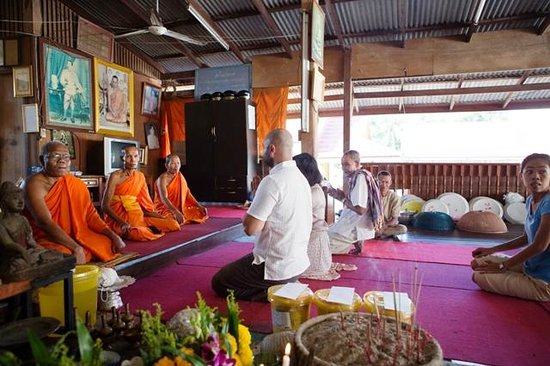 Six Senses Samui:                   Buddhist Wedding Blessing Ceremony
