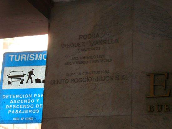 Elevage Buenos Aires Hotel:                   Hotel Elevage - placa da entrada