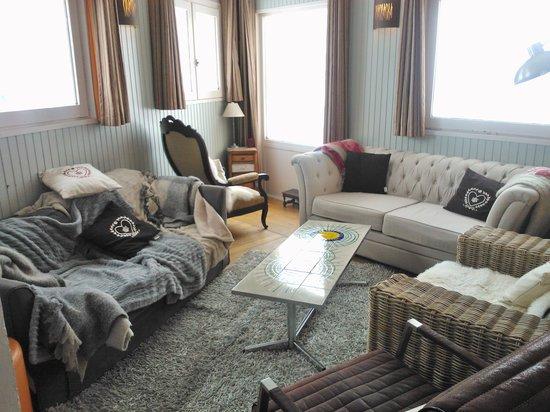 Hotel Vanoise :                   Salon lounge idéal pour le goûter